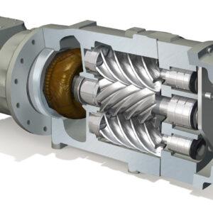 Carrier Corp. : TriRotor Cutaway