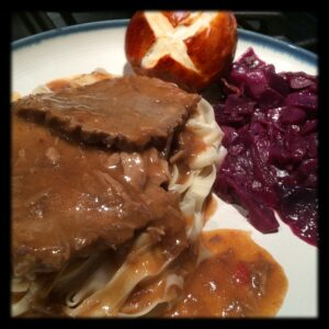 Our Family's Sauerbraten Recipe