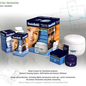 SonicBrite Packaging
