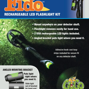 Fido™ for Nighttime Metal Detecting